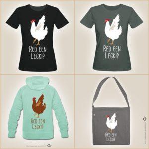 Shirts en tassen, ontworpen door Maria van Eldik