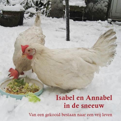Isabel en Annabel in de sneeuw